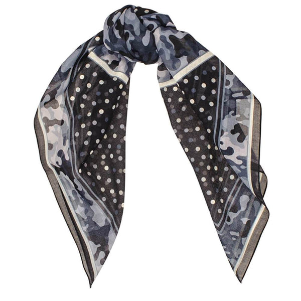 Verona Italian Cotton Square Scarf