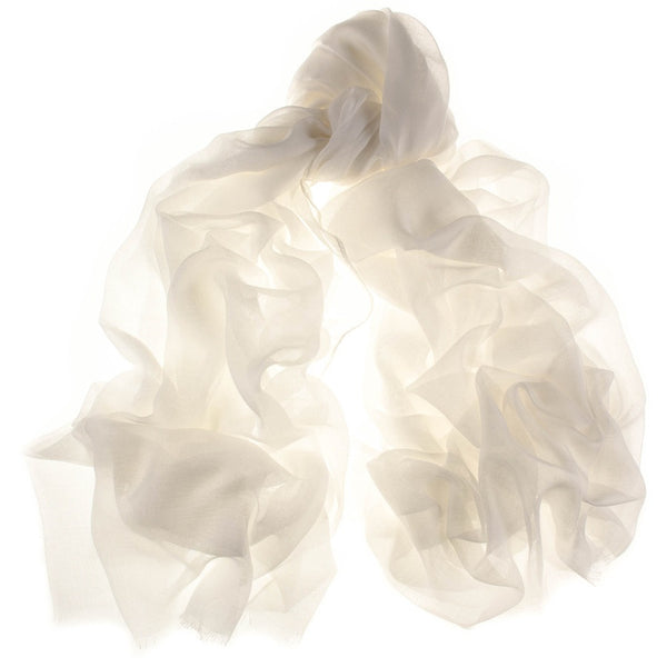 Parchment Cream Modal and Cashmere Shawl