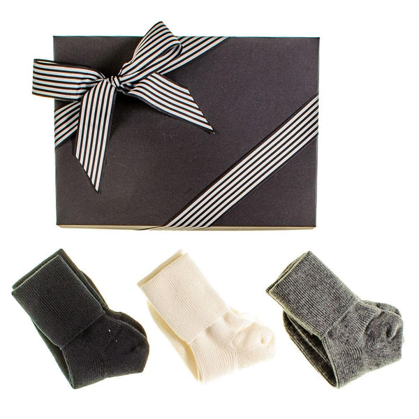 Women's Cashmere Socks Gift Set