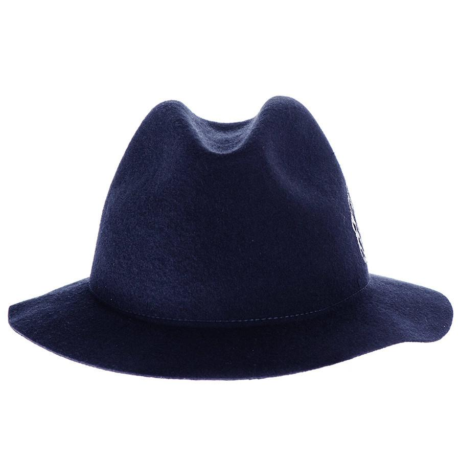 cc2aaf3002 Fleur Navy Wool Felt Hat – Black.co.uk