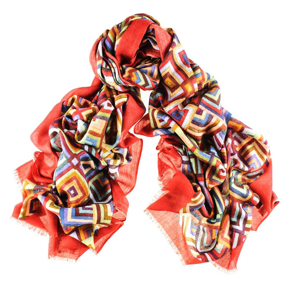 Babylon Cashmere and Silk Scarf