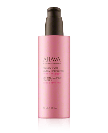 AHAVA Deadsea Water Mineral Body Lotion Cactus  And  Pink Pepper