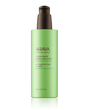 AHAVA Deadsea Water Mineral Body Lotion Prickly Pear  And  Moringa