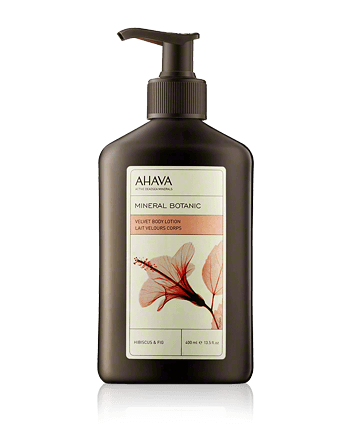 AHAVA Mineral Botanic Velvet Body Lotion Hibiscus and Fig