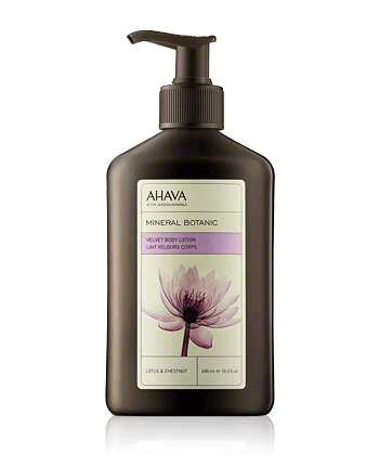 AHAVA Mineral Botanic Velvet Body Lotion Lotus and Chestnut