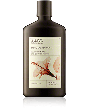 AHAVA Mineral Botanic Velvet Cream Wash Hibiscus and Fig