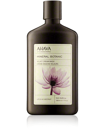 AHAVA Mineral Botanic Velvet Cream Wash Lotus and Chestnut