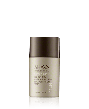AHAVA Time to Energize Age Control Moisturizing Cream Broad Spectrum SPF 15