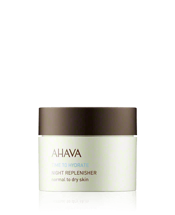AHAVA Time to Hydrate Night Replenisher Normal to Dry Skin