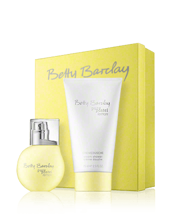 Betty Barclay Pure Pastel Lemon Set mit Shower Cream