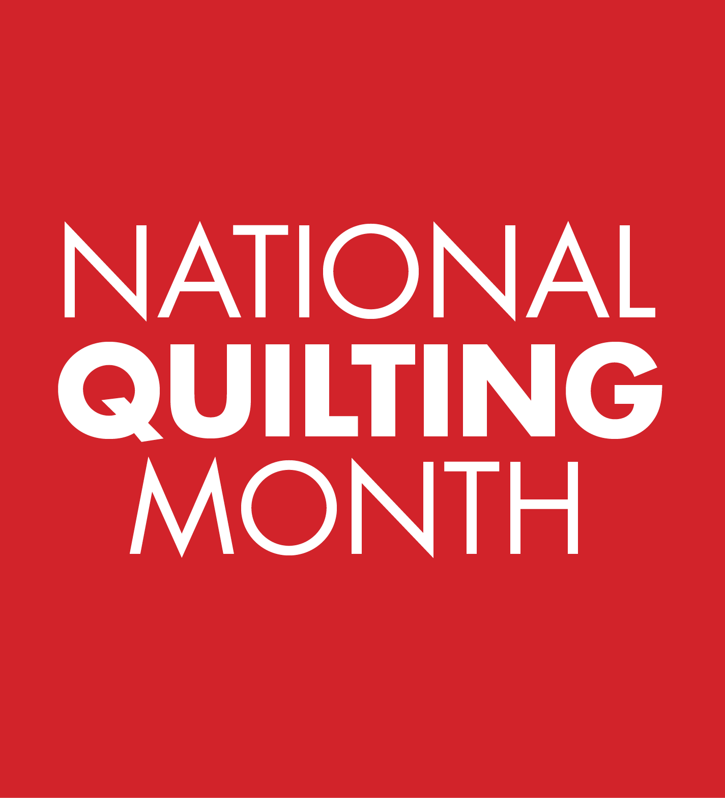 March is National Quilting Month!