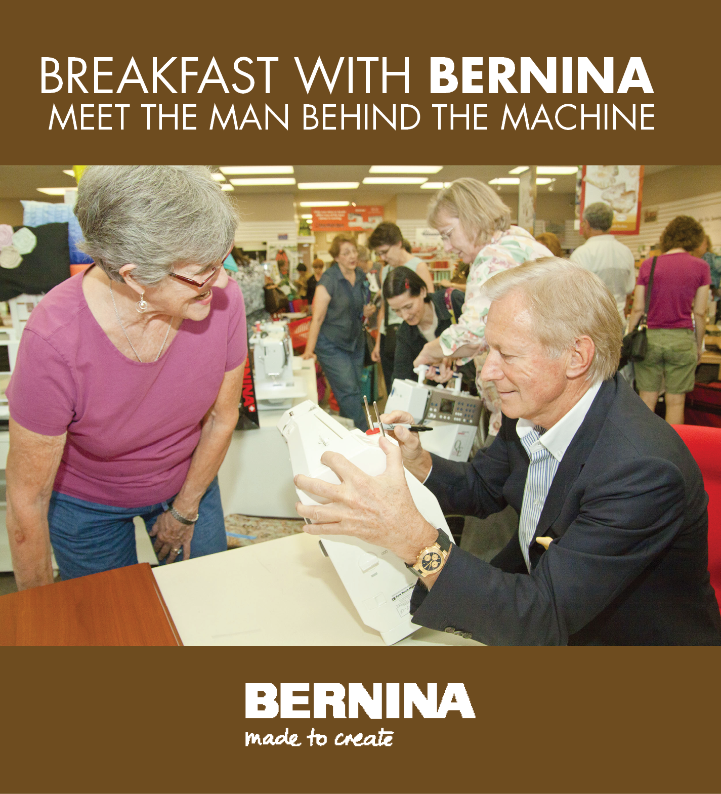 Breakfast with BERNINA