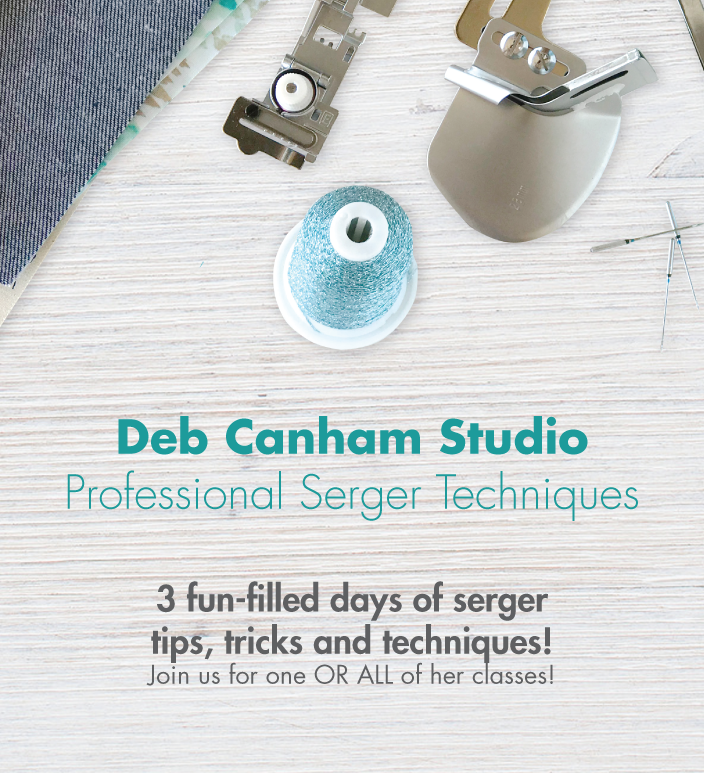 Deb Canham Studio: Professional Serger Techniques