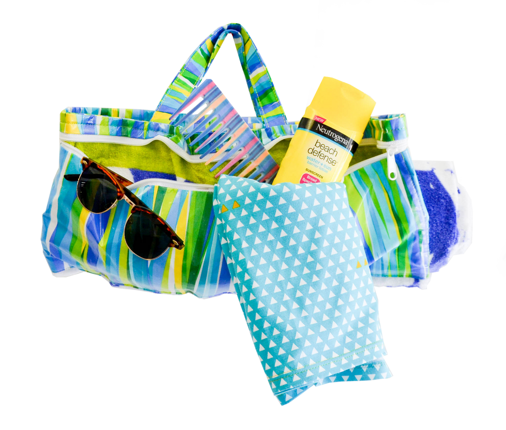 The Wrap & Carry Beach Towel
