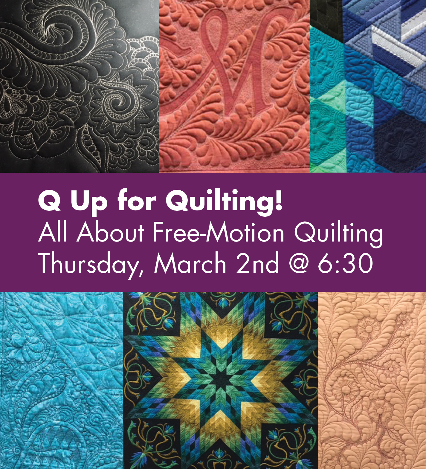 Q Up for Quilting!