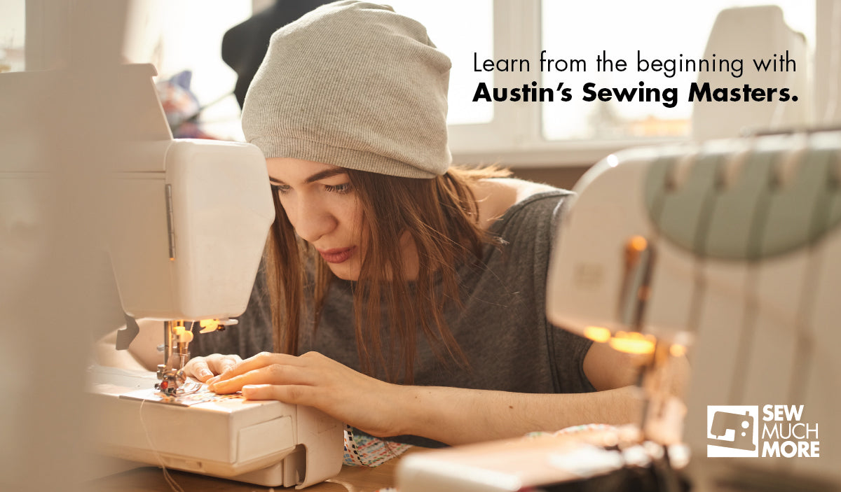 Beginning Sewing at Sew Much More