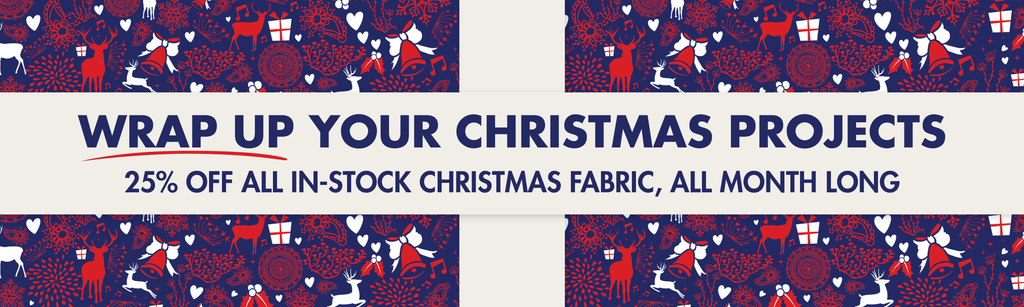 Christmas in July Fabric Sale