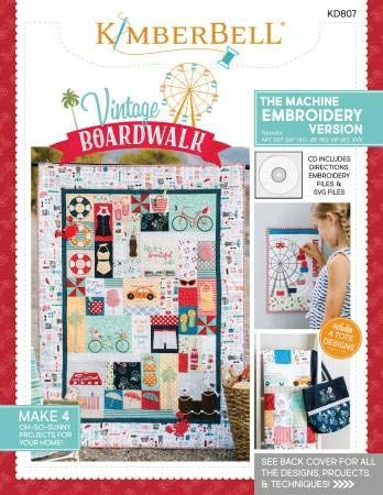 Kimberbell Vintage Boardwalk Quilt Kit