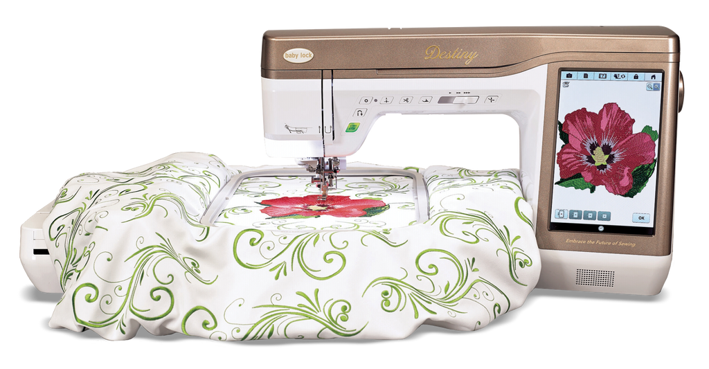 Baby Lock Destiny II Sewing and Embroidery Training