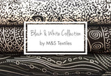 Black & White Collection by M&S Textiles