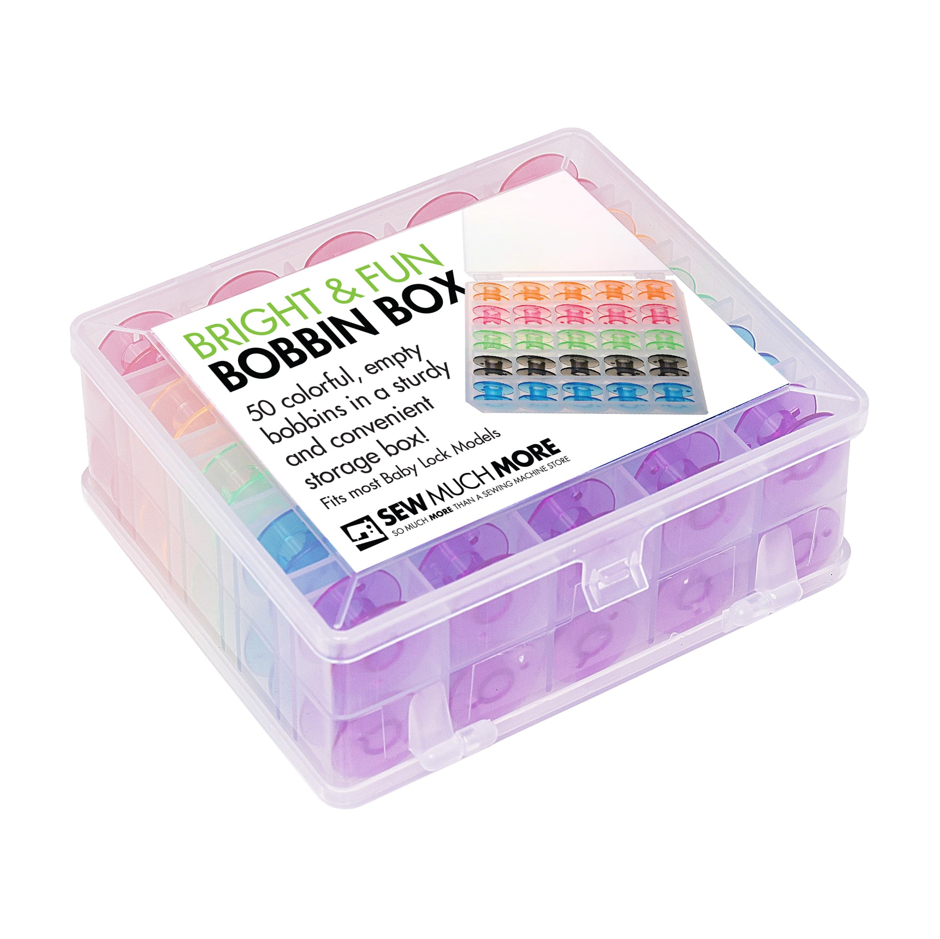 Bright & Fun Bobbin Box