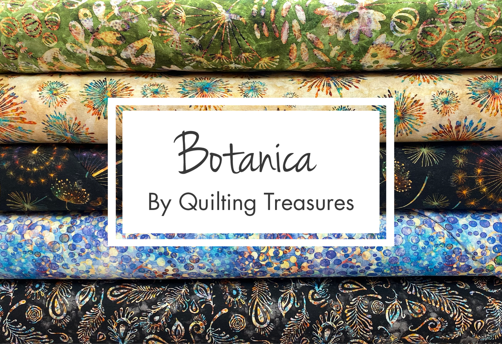 Botanica by Quilting Treasures