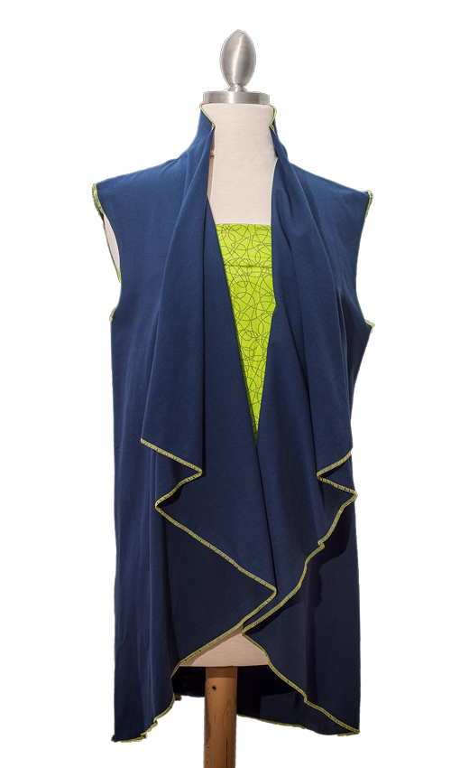 Cascade Collar Jacket or Vest