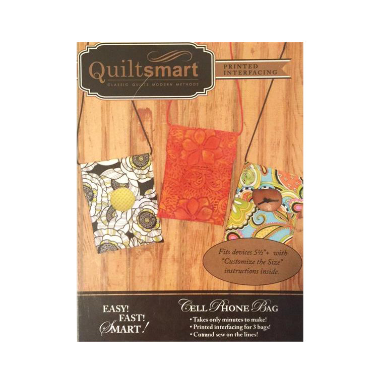 Quiltsmart Cell Phone Bag Pattern