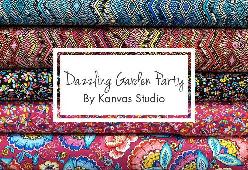 Dazzling Garden Party by Kanvas Studio