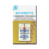 Schmetz Embroidery Twin Needle