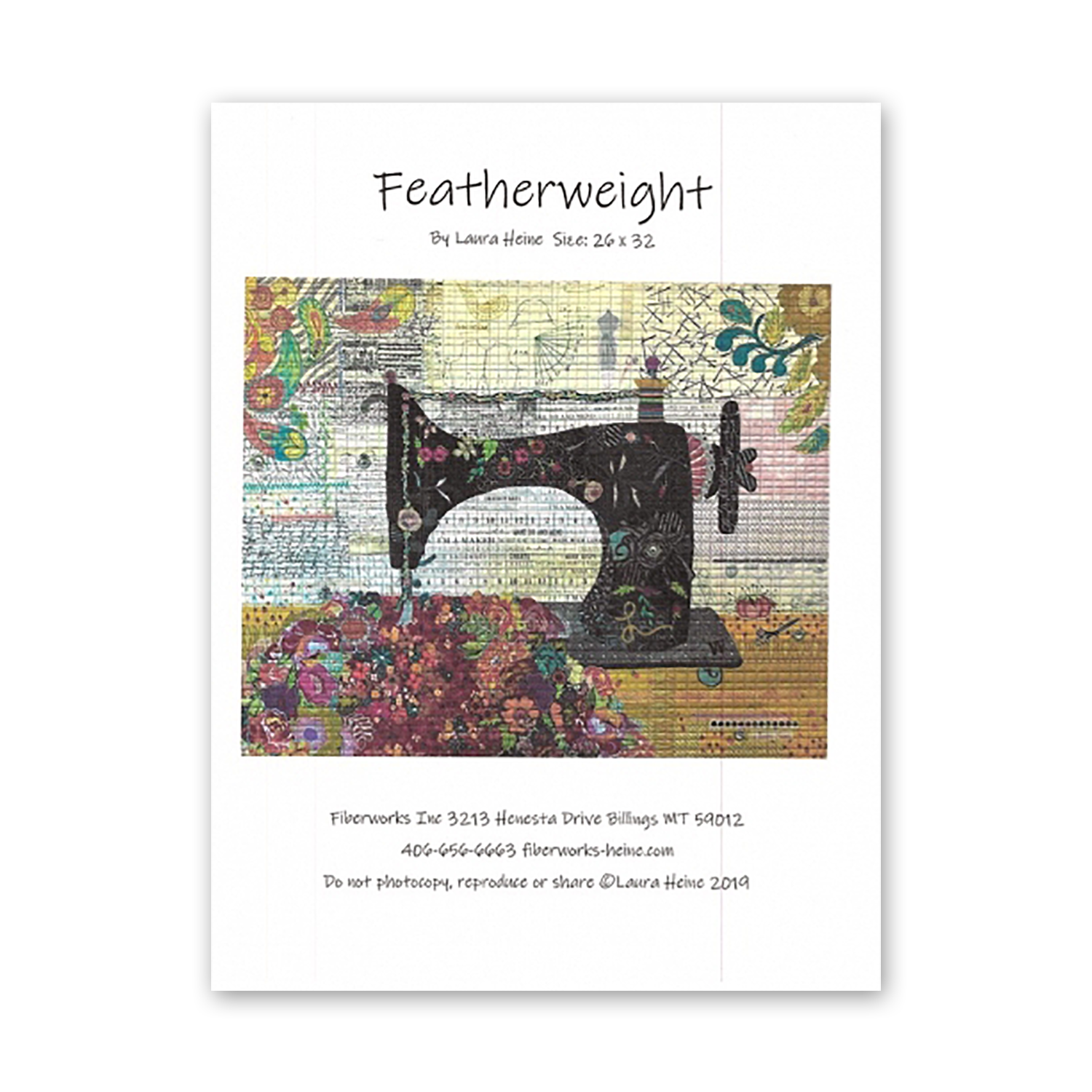 Featherweight Quilt Pattern by Laura Heine
