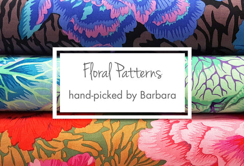 Floral Patterns Hand-Picked by Barbara