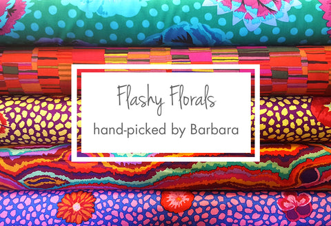 Flashy Florals Hand-Picked By Barbara Goldkorn