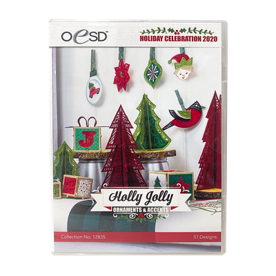 Holly Jolly Ornaments and Accents - OESD