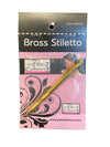 Brass Stiletto by Pam Damour