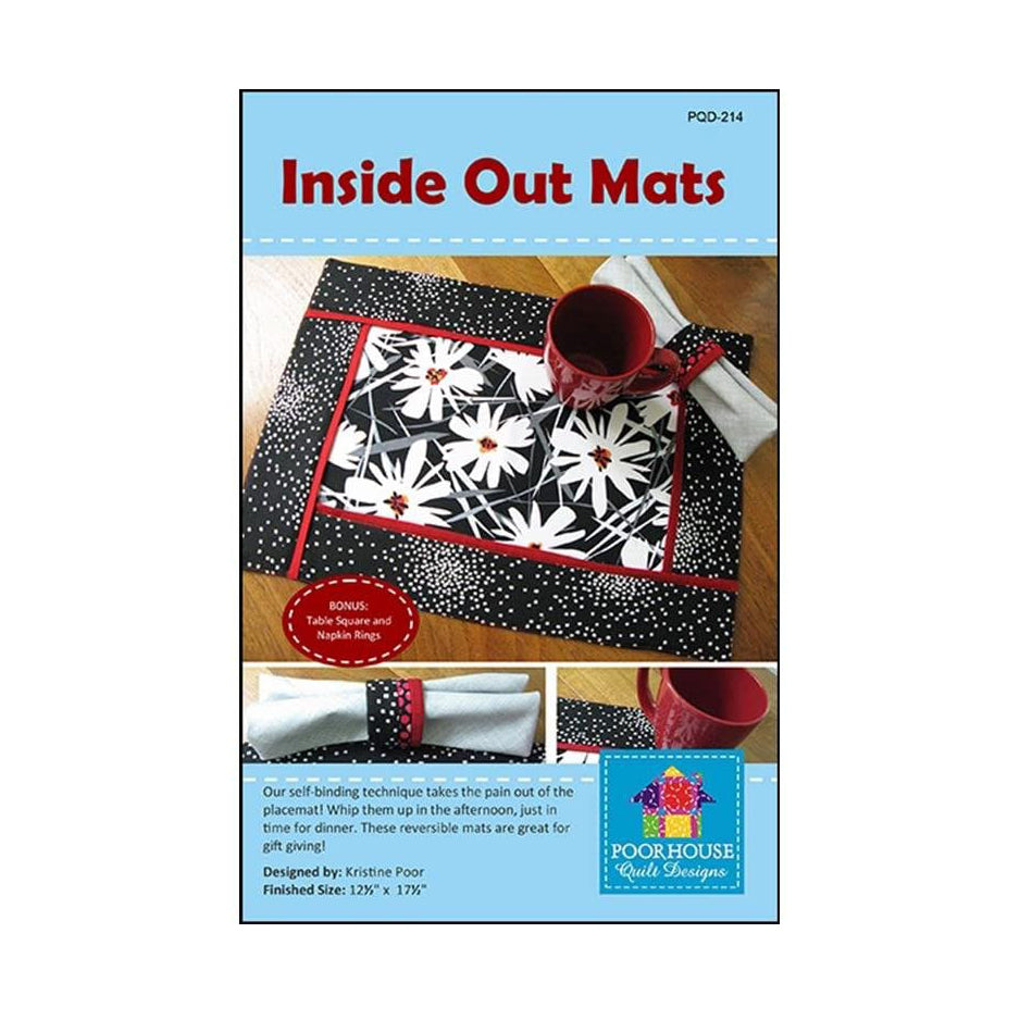 Inside Out Placemats Pattern