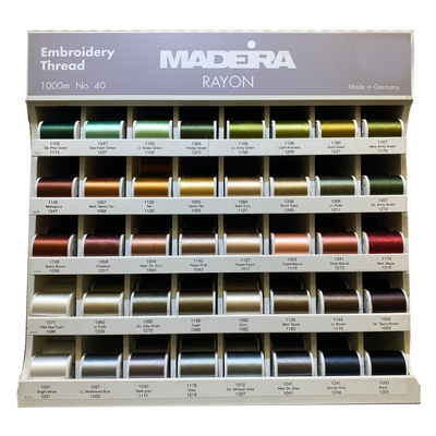 Madeira Rayon Embroidery Thread