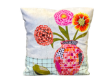 Modern Applique Pillow