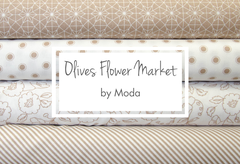 Olives Flower Market - by Moda