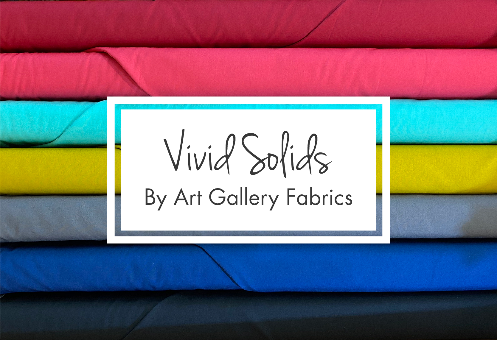 Bright Solids by Art Gallery Fabrics