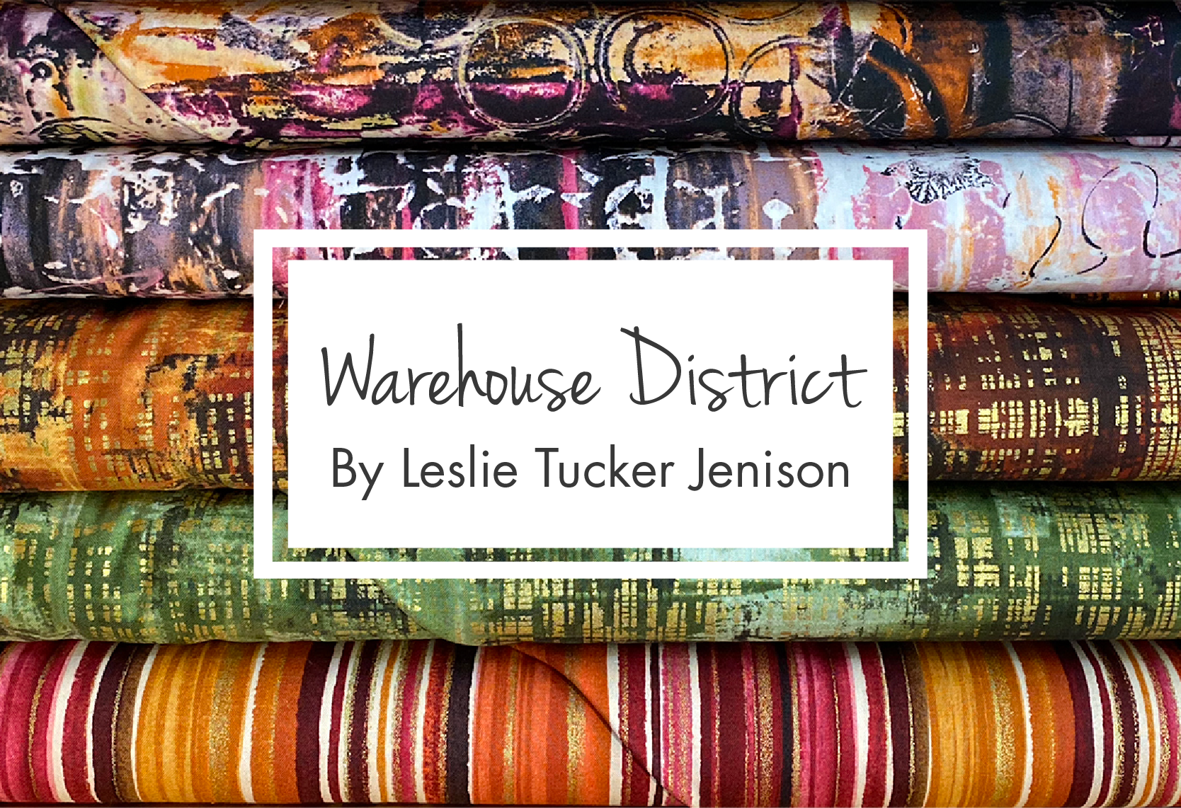 Warehouse District by Leslie Tucker Jenison