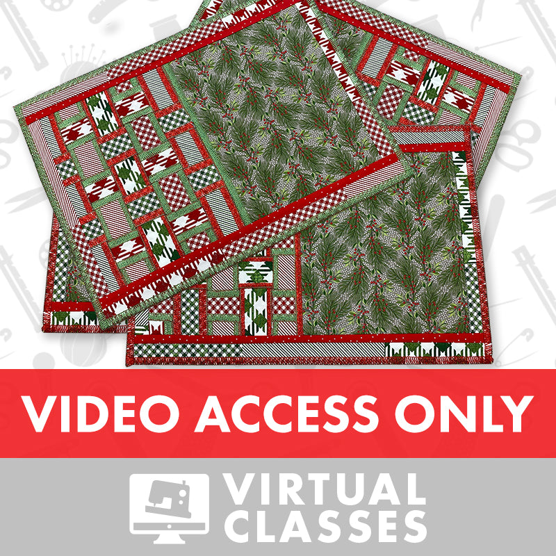 Virtual Class: Serger Placemats (Video Access Only)
