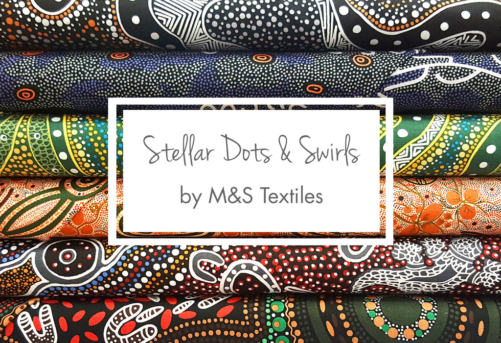 Stellar Dots & Swirls from M&S Textiles