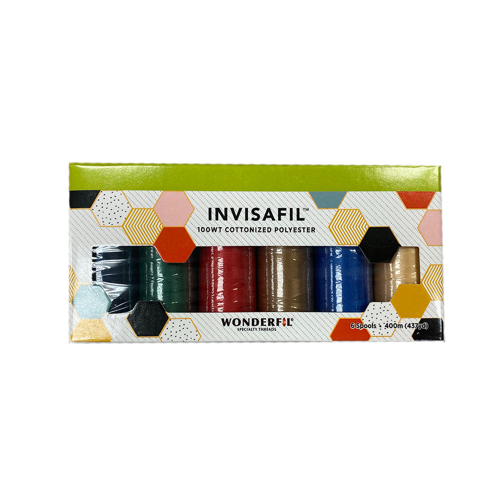 Invisafil 100wt Cottonized Polyester Mini Pack - Rainbow
