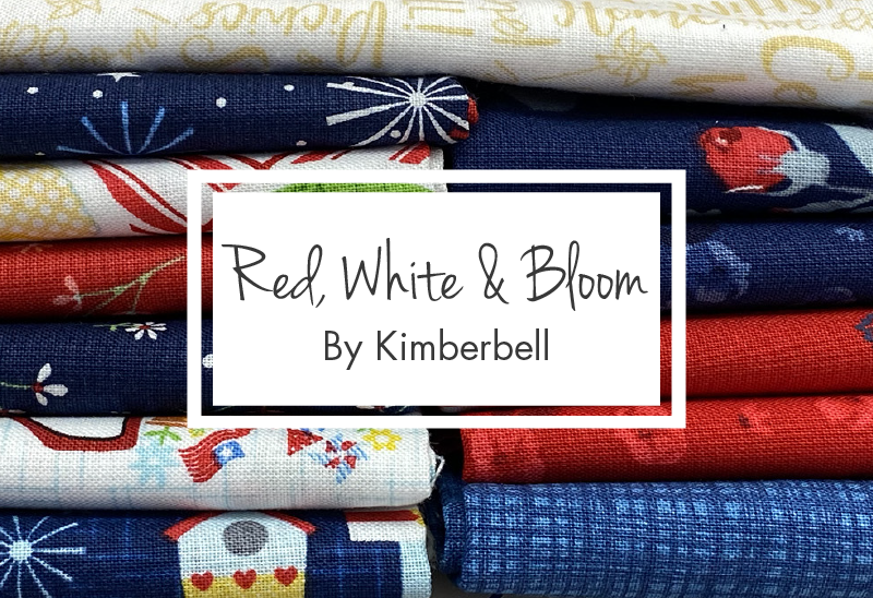 Red, White & Bloom by Kimberbell