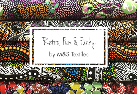 Retro, Fun & Funky from M&S Textiles