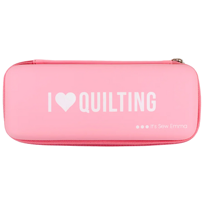"""I Love Quilting"" Rotary Cutter Case"