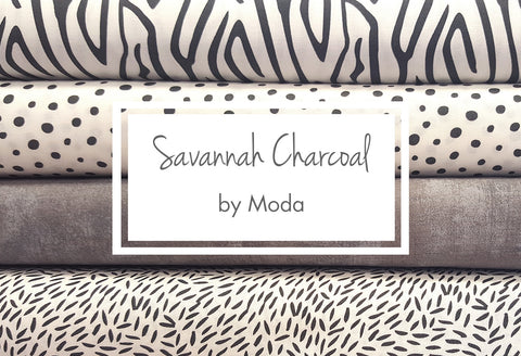 Savannah Charcoal by Moda