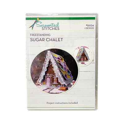 Freestanding Sugar Chalet - Scissortail Stitches