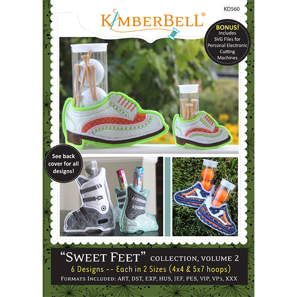 Kimberbell Sweet Feet Collection - Volume 2
